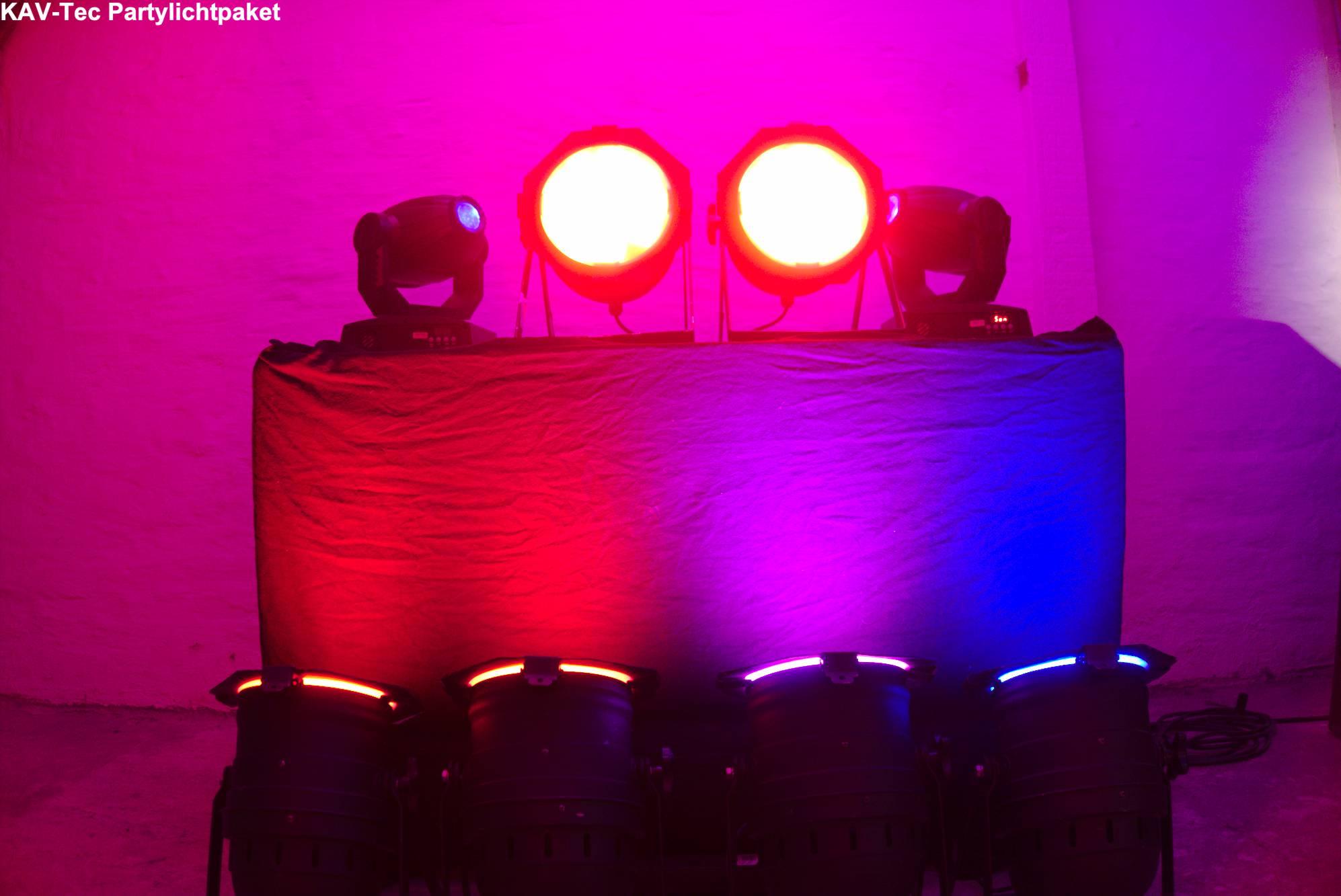 Party Lichtpaket
